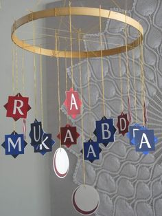 Ramadan and Eid decorations Eid Crafts, Ramadan Crafts, Craft Stick Crafts, Eid Holiday, Family Holiday, Muslim Celebrations, Ramadan Tips, Muslim Holidays, Eid Party