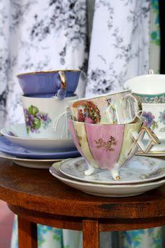 Madelief: tea cups