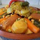 Marokkaanse couscous met kalfsvlees