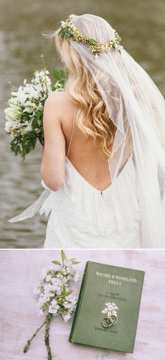 A Rustic Bridal Shoot From Coco Venues And Katrina Otter Weddings And Events Inspired By The Promise Of Spring At Narborough Hall Gardens With Dresses From Rue De Seine Bridal With Images From Rebecca Goddard Photography | Rock My Wedding