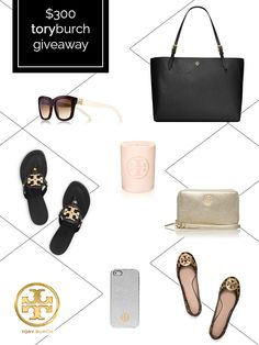 $300 Tory Burch Giveaway: Enter to win at simplyclarke.com