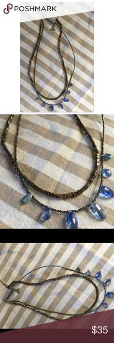 New - anthropologie necklace Subtle and understatement necklace perfect for spring and summer. Price to sell Anthropologie Jewelry