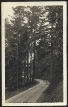 Highway Santa Cruz Los Gatos California Vintage Real Photo Post Card | eBay