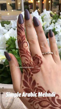 Simple Arabic Designs, Modern Henna Designs, Simple Arabic Mehndi, Indian Mehndi Designs, Back Hand Mehndi Designs, Latest Bridal Mehndi Designs, Modern Mehndi Designs, Mehndi Designs For Girls, Wedding Mehndi Designs