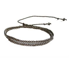 Keep it real, keep it simple.  Simplicity Strand necklace @sneakpeeq.com