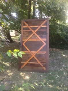 Sliding Barn Door made from recycled barn wood by Creatively Kustomized on etsy