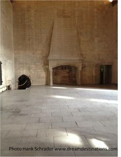 When a new Pope was elected, this is the fireplace that was used to tell the people of the election of the new Pope. Palace of the Popes Avignon France Provence, New Pope, Cecile, Caribbean Cruise, Vacation Packages, South Of France, Cruise Vacation, Vatican, Places Ive Been