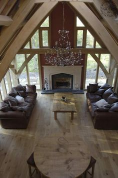 Large traditional oak frame home in Scotland | Carpenter Oak