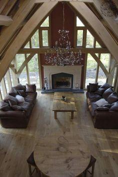 Large traditional oak frame home in Scotland | Carpenter Oak