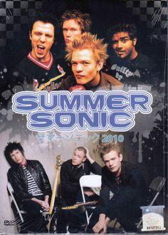 DVD SUMMER SONIC JAPAN 2010 Slash 30 Seconds To Mars Michael Monroe Region All