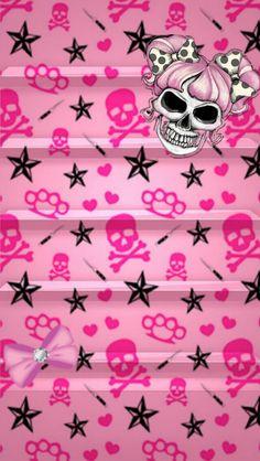 Skulls pretty pink wallpaper & lock screens in 2019 череп, о Pink Skull Wallpaper, Cover Wallpaper, Locked Wallpaper, Cellphone Wallpaper, Galaxy Wallpaper, Wallpaper Backgrounds, Iphone Wallpaper, Paper Beads Template, Sugar Skull Art