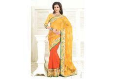 Women Yellow n Orange Georgette Saree PRICE -: 5000	 IBS Rs. 2620 48%Off http://www.ibscart.com/addtocart/15144/Women-Yellow-n-Orange-Georgette-Saree