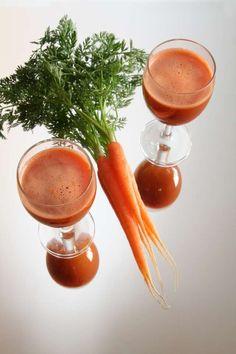Regularne picie soku z marchwi skutecznie działa na nasz układ trawienny bowiem wpływa na wydzielanie soków trawiennych żołądka.