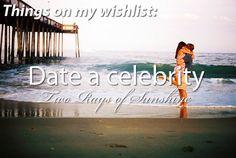 Date a celebrity
