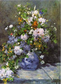 Grande Vaso di Fiori, Pierre-Auguste Renoir, 1866