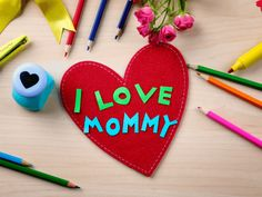 101 Amazing and Easy to Make Mother's Day Craft Ideas for Kids Easy Mother's Day Crafts, Mothers Day Crafts For Kids, Diy Crafts, Craft Kids, Preschool Crafts, Flower Diy, Diy Flowers, Homemade Kids Gifts, Children Ministry