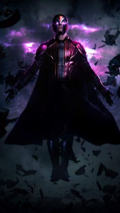 Magneto is a fictional character appearing in American comic books published by Marvel Comics, commonly in association with the X-Men. Created by writer Stan Lee and artist Jack Kirby, the character first appears in The X-Men as an adversary of the X-Men Marvel Comics Art, Marvel Heroes, Marvel Avengers, Spiderman, Batman, Cartoon Movie Characters, Marvel Characters, Book Characters, Gotham City