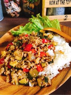 Japanese Food, Fried Rice, Cobb Salad, Healthy Recipes, Healthy Food, Fries, Cooking, Ethnic Recipes, Healthy Foods