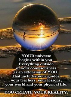 You create your reality #positivethoughts #positiveactions                                                                                                                                                     More