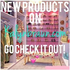 Kalyns Closet: Just added new products to my website! Be sure to check them out and remember my Christmas early bird special! Spend $100 or more & get FREE SHIPPING! CC: xmasfreeship Or Get %15 off your purchase with CC: 15xmas! Happy Holidays everyone! kalynbraun.com #Kalynbraun #bigrichtexas