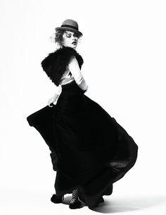 Helena Bonham-Carter / zoo magazine, march 2005. photo by Bryan Adams.