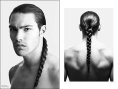 Michael Hudson Native American model. Wow!
