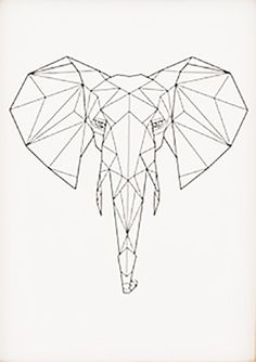 Our Beautifully Designed Geometric Animal Range Of Prints Are By Bespoke Art Framing Right Here