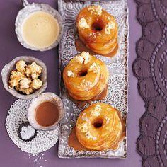Caramel and Popcorn Cronuts