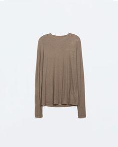 comfy long sleeve shirt - light mink