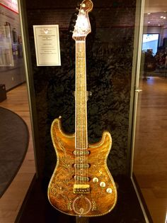 A Fender Stratocaster handcrafted by the best!