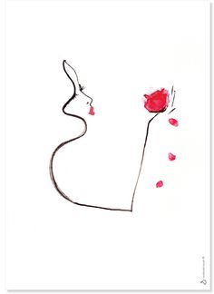 Rosebud Signed Art Print