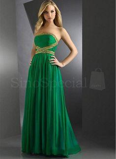 hunter green a line dress