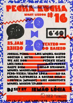 www.wearehellostranger.com - Pecha Kucha Night Lisbon #16 Poster