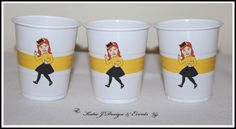 Emma Wiggle The Wiggles Personalised Birthday Party Decorations Supplies Packs Shop Online Australia Banners Bunting Wall Display Cupcake Toppers Chocolate Wrappers Juice Water Pop Top Labels Posters Lanterns Invites Cup Stickers Ideas Inspiration Cake Table Katie J Design and Events 1st 2nd 3rd