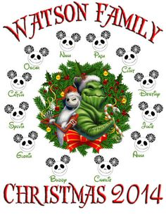 TI'm Going to Disney World Family Vacation T Shirts - Christmas - Trip Nighmare Before Christmas - Iron On Transfer DIY Custom Decal Digital.  This is an feisty Nightmare Before Christmas Family Christmas Vacation Disney World custom art file featuring Jack Skellington and Oogie Boogie. This