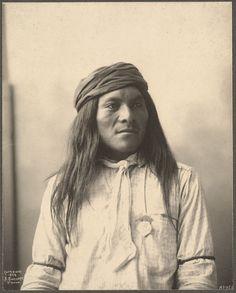 Apache. Frank A. Rinehart photography, 1898