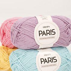 Farbkarte für DROPS Paris ~ DROPS Design
