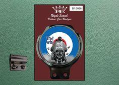 Royale Classic Car Badge & Bar Clip Jimmy Quadrophenia Target Mod B1.0966