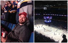 Jay has been setting the pace and working hard for the team at Atlantic Business Consultants. For all of his hard work, CEO Josh, took him to a hockey game!