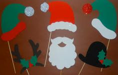 christmas picture prop ideas - Google Search