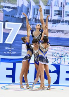 Group ITALY won GOLD in 5 hoops finals at RG World Championships 2017