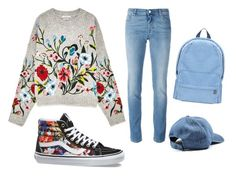 """Untitled #42"" by km-denis on Polyvore featuring Vans and Givenchy"