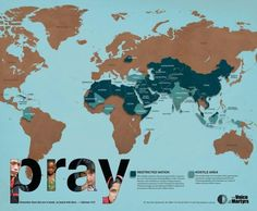 Pray for persecuted Christians daily. They are all over the world and country.