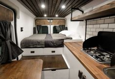 Brilliant 23 Awesome Camper Van Conversions That'll Inspire You https://decoratoo.com/2017/10/06/23-awesome-camper-van-conversions-thatll-inspire/ Because the rear of the van is windowless, now's the opportunity to consider ventilation. Use low superior glue and you'll have your work peeling off right away.