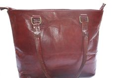 Distressed Leather Women's Tote