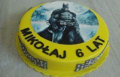 Torty Kraków Cukiernia Gateau Tort z nadrukiem Batman #torty #tortykraków #kraków #cukiernia #gateau #cukierniagateau #urodziny #tortyurodzinowe #tortydladzieci