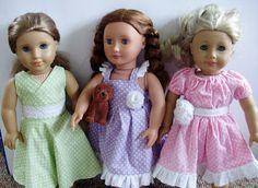 Flutter Sleeve Doll Dess