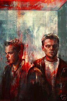 The Departed Leonardo DiCaprio and Matt Damon
