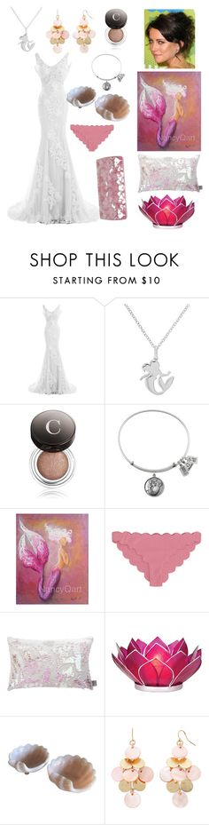 """""""Alana"""" by diamond-paige ❤ liked on Polyvore featuring Disney, Chantecaille, Aviva Stanoff, Cultural Intrigue, Mixit and Jo-Liza"""