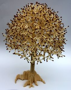 icu ~ Pin on DIY And Crafts ~ Creating amazing pieces of crafts out of scrap is always satisfying for art lovers and those who love to play with their creative instincts. Popsicle Stick Crafts, Craft Stick Crafts, Paper Crafts, Wood Crafts, Diy Home Crafts, Diy Crafts For Kids, Arts And Crafts, Craft Ideas, Tree Crafts